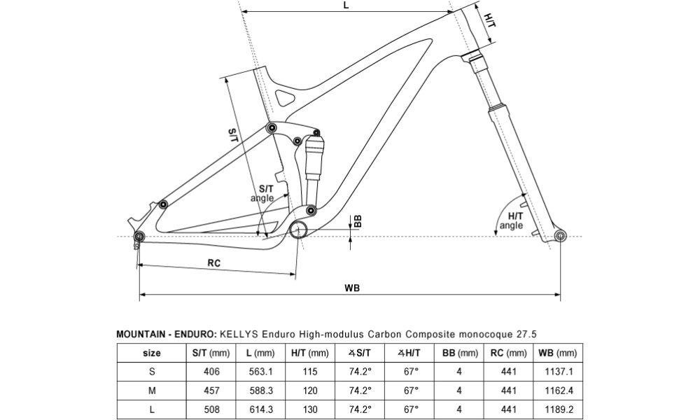 "2017 Kellys Eraser 70 karbon enduro 27,5"" kerékpár"