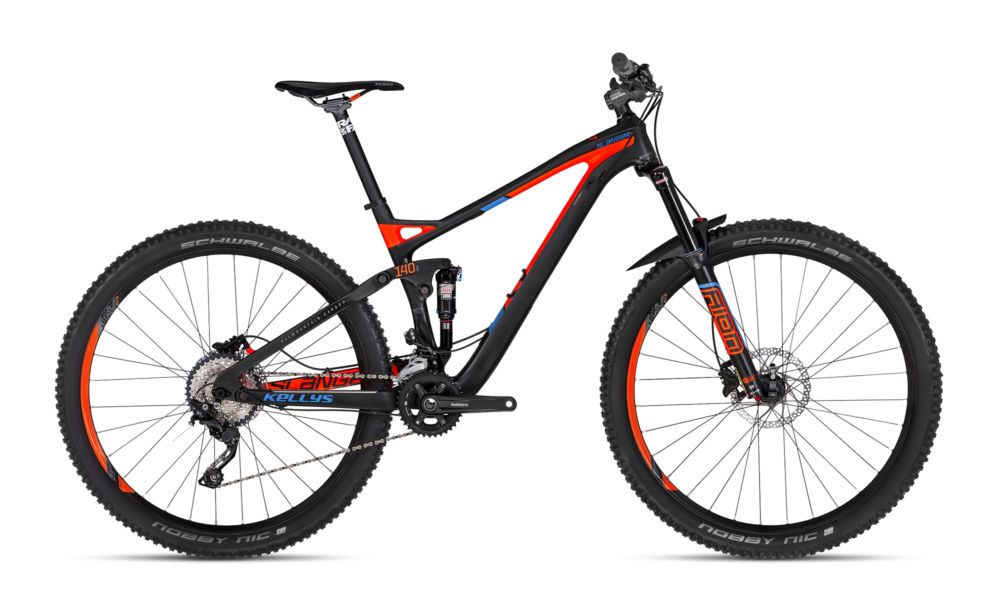 """2018 Kellys Slanger 10 karbon enduro 27,5"""" kerékpár"""