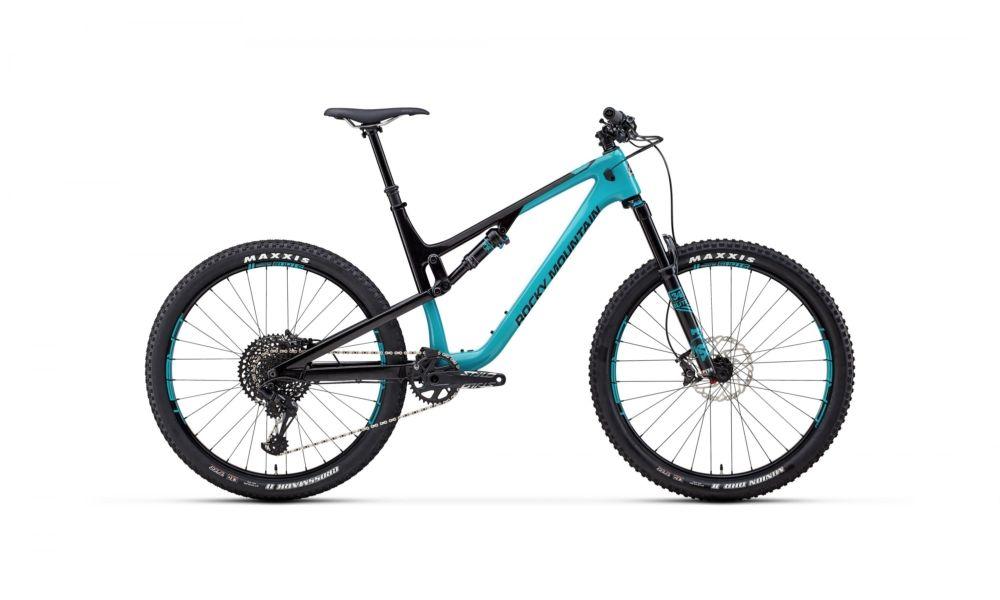 """2018 Rocky Mountain Thunderbolt 70 karbon 27.5"""" Trail kerékpár"""