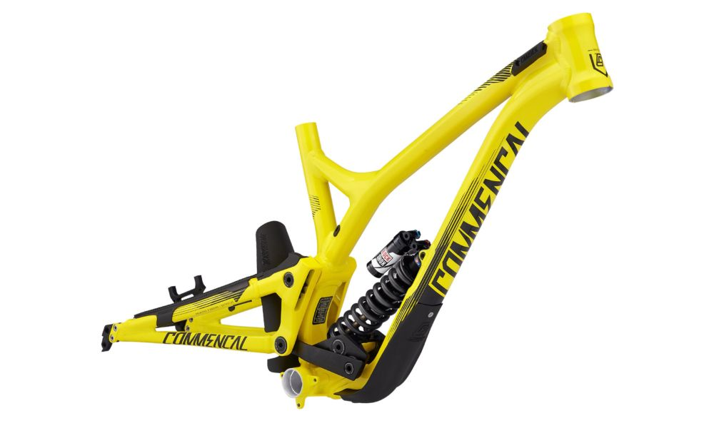 2017 Commencal Supreme DH V4.2 27.5 Downhill váz BLACK-YELLOW