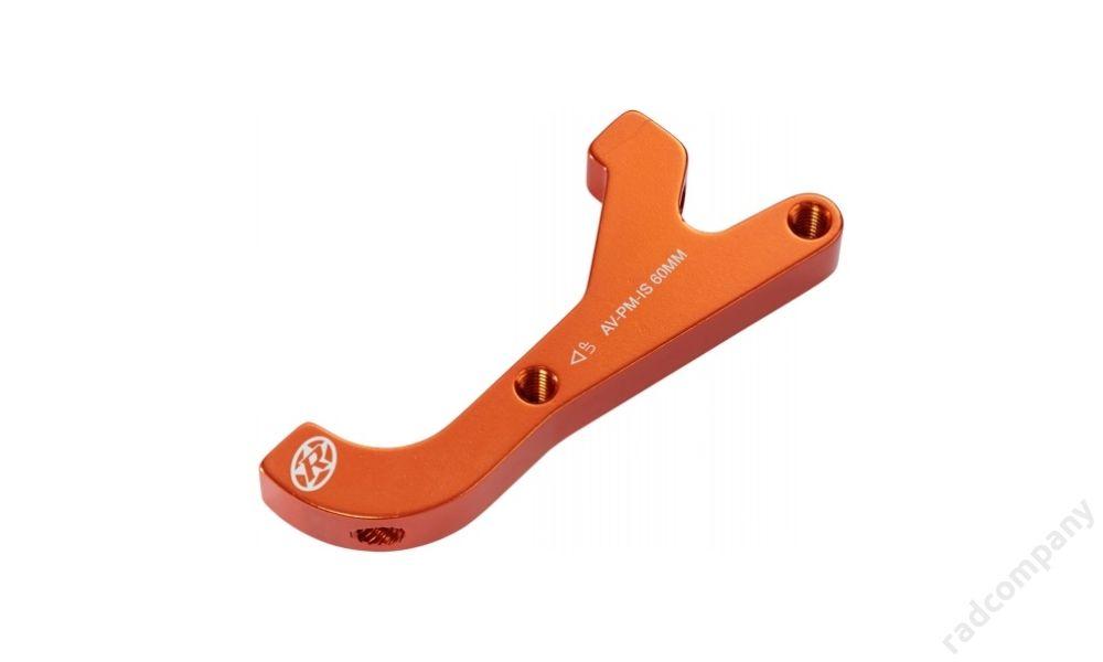 REVERSE Disc Adapter AVID IS-PM 200 Rear, Orange