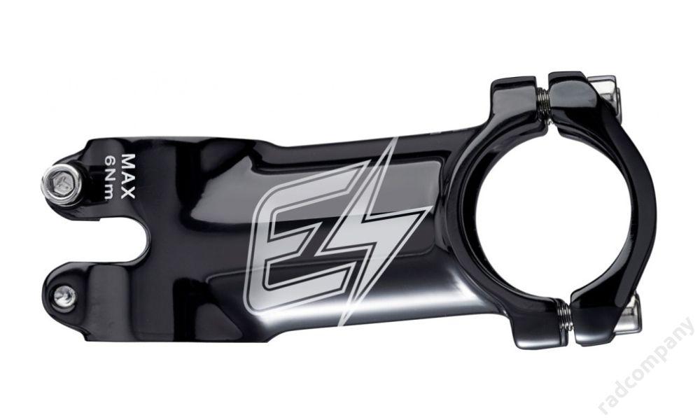 REVERSE E-XC Ø31.8mm 80mm 6°, FEKETE/SZÜRKE stucni