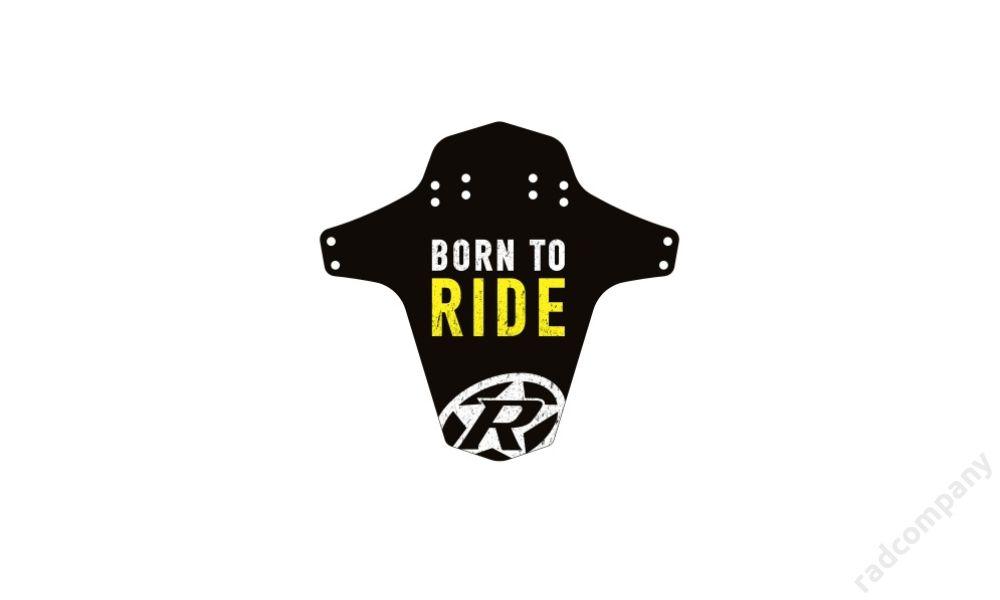 REVERSE Sárvédő - Born to Ride, CITROMSÁRGA