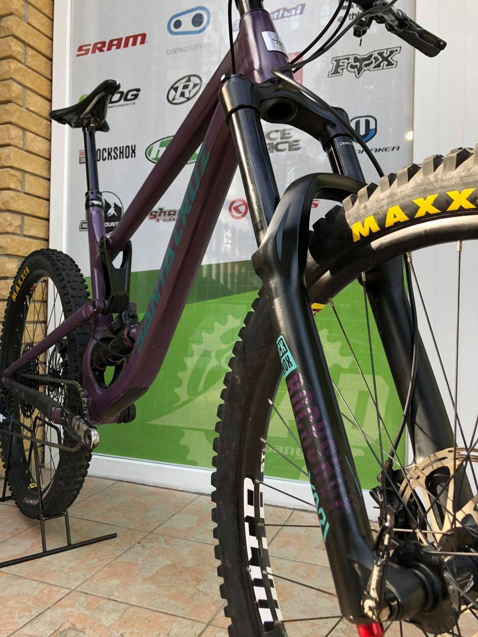 """2020 Santa Cruz Nomad AL Enduro kerékpár 27.5"""""""