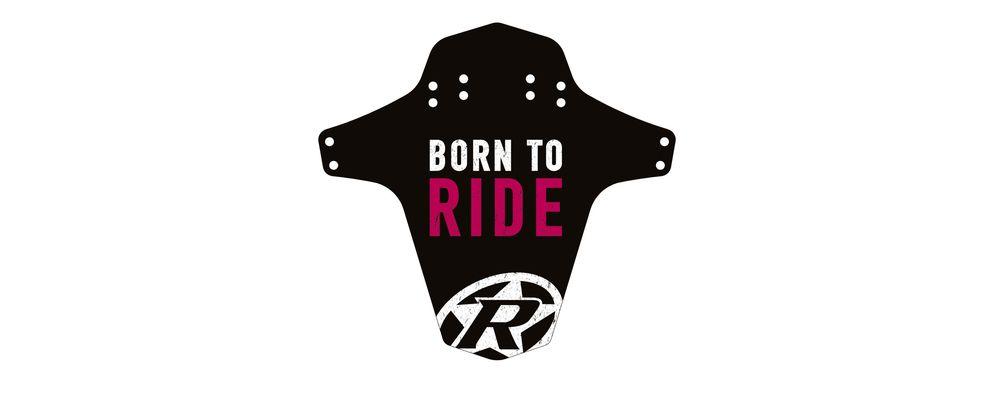 REVERSE Sárvédő - Born to Ride, Rózsaszín